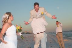 WAIT!!! What about the #honeymoon? Ceremony at Crystal Beach inn www.surfsidebrides.com