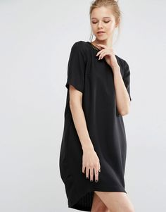 Image 1 -Y.A.S Sanna Short Sleeve Open Back Dress