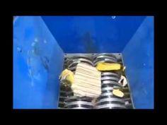 Mesin pencacah sampah