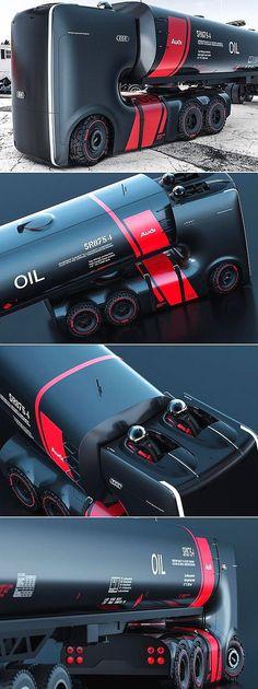 ✨ AUDI Autonomous Electric Truck Concept 2 | © Smirnov/Panchenko