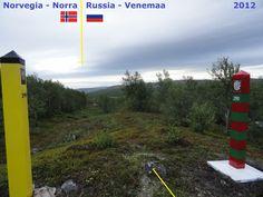 Confini amministrativi - Riigipiirid - Political borders - 国境 - 边界: 2012 NO RU Norra-Venemaa Norvegia-Russia