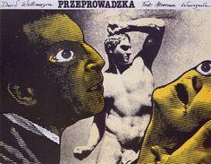 Andrzej Klimowski: Transmitting the Image: Design Observer Design Observer, Polish Posters, Graphic Art, Graphic Design, Collage Art Mixed Media, Weird Art, Cover Art, Vintage Posters, Creepy