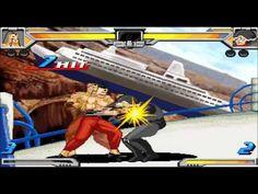 Muscle Fight Ramen Man ver Anime Combo Video