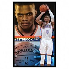 Trends International Oklahoma City Thunder Russell Westbrook Wall Poster inch x 34 inch, Multicolor San Diego Basketball, Houston Basketball, Basketball Rules, Basketball Legends, Basketball Jersey, College Basketball, Basketball Hoop, Syracuse Basketball, Girls Basketball Shoes
