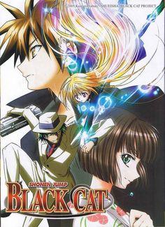 Black Cat #Anime #manga