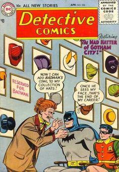 Batman - Robin - Hats - Detective - Mercury - George Roussos