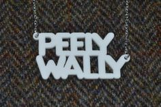The chances of rocking a tan in Scotland this summer are pretty minimal, so let's embrace our peely wally skins with this cool necklace.   Available in blue or white (like most Scots), it makes the perfect addition to your festival outfit.  All of our Bonnie Bling jewellery are original designs by Bonnie Bling, which are laser cut and hand assembled in bonny Scotland. £17.50