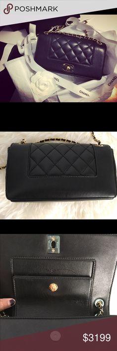 54db5c56b5fb Chanel Mademoiselle Vintage Flap Bag Brand: CHANEL Style: Mademoiselle  Vintage Type: Flap bag