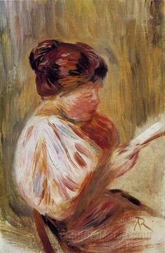 Woman Reading - Georges Seurat