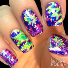 Instagram media by adifferentshadeofpolish #nail #nails #nailart