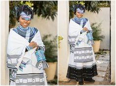 Tobani & Nizi's Traditional African Wedding photos as well as their White Wedding. The wedding took place in East London and McClear, South Africa African Wedding Attire, African Attire, African Wear, African Fashion Dresses, African Dress, Traditional Wedding Dresses, Traditional Outfits, Traditional Weddings, Xhosa Attire
