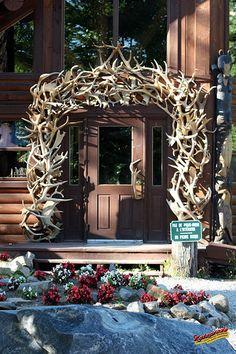 Lodge entrance - Canada