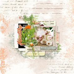 Oscraps.com :: Shop by Date :: Shop by Date - April 2016 :: Garden Journal (Full collection 5 in 1)
