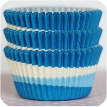 Bake It Pretty - Blue Tilt-a-Whirl Baking Cups