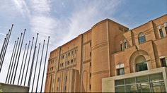 The left side of the main building of the concert hall. (Walking Thessaloniki - Route 17, Depot)