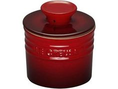 Cherry 6-oz. Stoneware Butter Crock by Le Creuset by Le Creuset at Cooking.com