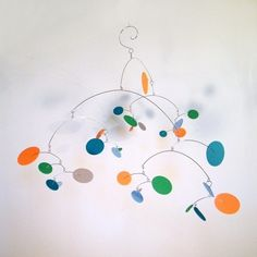 Kinetic Mobile  Constellation large in Play by TheWonderlandStudio, $96.00