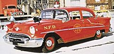 1955 Oldsmobile 88 Special Fire Chief and Command Car....