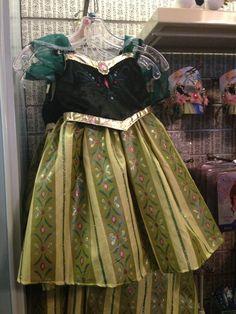 Frozen Anna costume dress