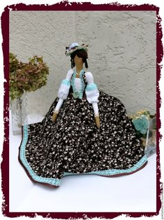 Купить Кукла в стиле Тильда Барышня - мятный, кукла ручной работы, кукла, кукла в подарок
