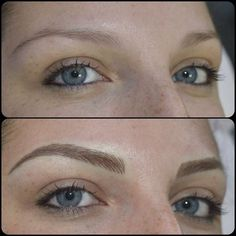 Image result for microblading brows blonde #eyebrows