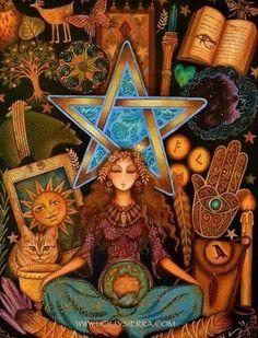 Spiritual Goddess ~ by Holly Sierra