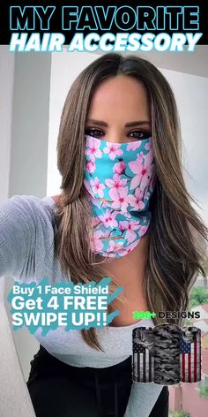 Protect Your Hair and Face from Cold, Sun, Dust, & Allergens. Made of UPF 40 Microfiber. All Face Shields come with a Lifetime Warranty! Join the SA Team Today! What are you suggestion on good Easy Face Masks, Diy Face Mask, Creation Couture, Mouth Mask, Diy Mask, Bandeau, Hair And Nails, Ideias Fashion, Cool Things To Buy