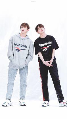ongniel is science💫 Ong Seung Woo, Daniel K, Kpop Couples, Lee Daehwi, Produce 101 Season 2, Kim Jaehwan, Ha Sungwoon, Cute Poses, Korean Star