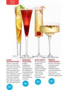 Holiday drinks