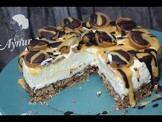 Toffifee Torte Rezept ohne Gelatine und ohne backen- Toffifee cikolatali...