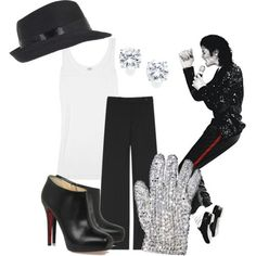 @Joy Carrillo we should wear these outfits when we do the Michael Jackson Experience...plus I can look stylish when I out dance you!