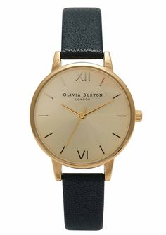 Olivia Burton Midi Dial Watch - Black