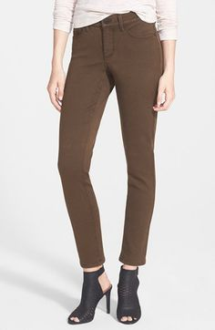 NYDJ 'Alina' Colored Stretch Skinny Jeans (Regular & Petite) | Nordstrom $110