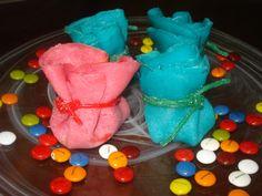 Bolsitas de cumpleaños (dulces). Ver la receta http://www.mis-recetas.org/recetas/show/18497-bolsitas-de-cumpleanos-dulces?ref=nf