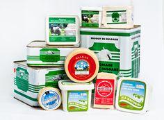 Bulgarian white cheese and Kashkaval #cheese www.mybalkanstore.com