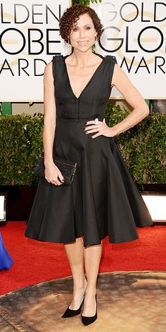2014 Golden Globes Red Carpet Arrivals - Minnie Driver from #InStyle