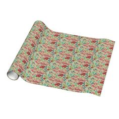 Christmas Botanicals Wrapping Paper