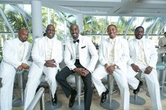 """Diamonds Are Forever"" Themed Wedding in Florida - Munaluchi Bridal Magazine All White Wedding, Wedding Pics, Wedding Styles, White Weddings, Wedding Ideas, Wedding Stuff, Wedding Planning, Dream Wedding, Brown Groomsmen"
