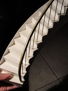 making a spiral staircase