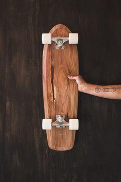 Área Visual - Blog de Arte y Diseño: Tom Wilhelm. Skateboard minimalistas realizados a mano