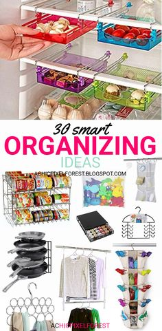 30 Smart Organizing Ideas