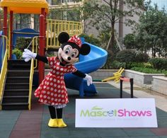 New Year Christmas Mickey Mouse mascot costume mickey at hallowmascots.com And Minnie Mascot Costumes Wedding version Pink Mickey Mouse mascot Free Shipping.