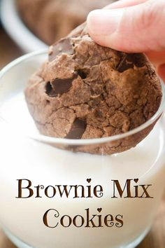 Brownie Cookie Recipe From Mix.Brownie Mix And Oreo Cookie Recipe. How To Make Cookies N Cream Brownies With Brownie Mix: 11 . Easy Cookie Recipes, Best Dessert Recipes, Brownie Recipes, Easy Desserts, Delicious Desserts, Hershey Recipes, Awesome Desserts, Keto Desserts, Sweets Recipes