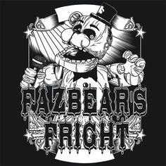 Fazbear FNAF T-Shirt More Info Behind Fazbear FNAF T-Shirt Freddy Fazbear…