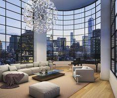 NYC 10 Sullivan Street Duplex Penthouse $25,000,000 FOR SALE   $4,757 per ft²   5 beds   5.5 baths