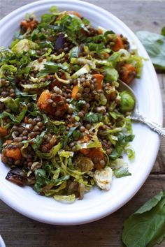 French Lentil and Vegetable Salad | 24 Giant Salads That Will Make You Feel Amazing