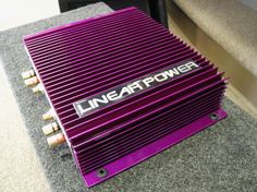 Our first shipment is now in stock, in both Black and Plum Crazy finish options! Linear Power's new LP2075 2-channel class A/B amplifier features a proven heatsink design made of extruded aircraft aluminum! Manufacturing their products in the USA, Linear Power has always focused their resources on performance and quality, rather than marketing and hype. For applications that demand only the best performance, Linear Power is our choice.