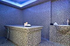 i-Spa by Algotherm - InterContinental Paris Le Grand Le Bristol, Outdoor Furniture, Outdoor Decor, Corner Bathtub, Ottoman, Vanity, Styles, Spas, Cure
