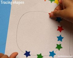 Tracing exercise for preschoolers. @Pediatric Therapy Center-for all of our pins, please visit our page at pinterest.com/pedthercenter/