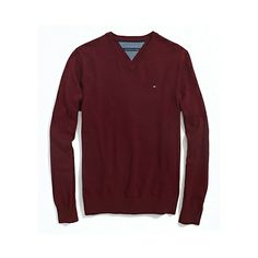 NECK PACIFIC PULLOVER SWEATER  S M L XL 2XL NEW TOMMY HILFIGER MAN/'S V